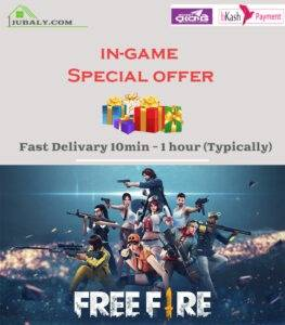 Free Fire special offer