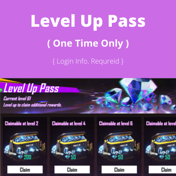 level up pass free fire